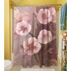 Thumbprintz Gypsy Blossom 2 Polyester Shower Curtain