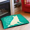 Thumbprintz Be the Person Your Dog Thinks You Are Indoor/Outdoor Pet Bed