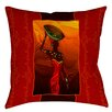 Thumbprintz African Beauty 2 Indoor / Outdoor Pillow