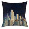 Thumbprintz Midnight in Midtown Printed Pillow