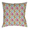 Thumbprintz Shangri La Leaves Printed Pillow
