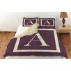 Thumbprintz Classic Block Monogram Duvet Cover Collection