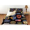 Thumbprintz Police Patches Duvet Cover Collection