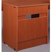 """Stevens ID Systems Library 36"""" Computer Desk with Drawer and Locks"""
