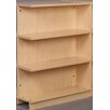"Stevens ID Systems Library 47"" Adder Single Face Shelf Bookcase"