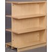 "Stevens ID Systems Library 47"" Adder Double Face Shelf Bookcase"