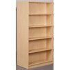 "Stevens ID Systems Library 74"" Starter Double Face Shelf Bookcase"