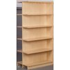 """Stevens ID Systems Library 74"""" Adder Double Face Shelf Bookcase"""
