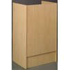 Stevens ID Systems Library Research Kiosk Floor Lectern with Keyboard Tray