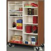 Stevens ID Systems Mobiles Divided Open Shelf Storage
