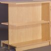 """Stevens ID Systems Library 39"""" Adder Double Face Shelf Bookcase"""