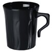 Fineline Settings, Inc Flairware Rippled Disposable Plastic 8 oz. Coffee Mug (288/Case)