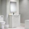 Tavistock Meridian Vanity Unit in White Gloss