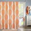 Intelligent Design Senna Microfiber Printed Shower Curtain