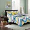Intelligent Design Elise 5 Piece Full / Queen Comforter Set