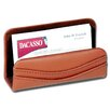 Dacasso 1000 Series Classic Leather Business Card Holder in Tan