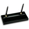 <strong>1000 Series Classic Leather Double Gold Pen Stand in Black</strong> by Dacasso