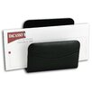 1000 Series Classic Leather Letter Holder in Black