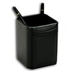 <strong>1000 Series Classic Leather Pencil Cup in Black</strong> by Dacasso