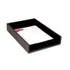 Dacasso 3200 Series Leather Front-Load Legal Tray in Rustic Black