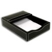 3200 Series Leather 4 x 6 Memo Holder in Rustic Black