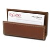 Dacasso 3200 Series Leather Business Card Holder in Rustic Brown