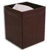 <strong>Dacasso</strong> 1000 Series Classic Leather Square Waste Basket