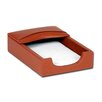 Dacasso 1000 Series Classic Leather 4 x 6 Memo Holder in Tan
