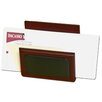 8000 Series Rosewood and Leather Letter Holder