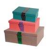 Ian Snow 3 Piece Retro Suitcase Box Set
