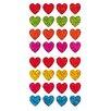 Jillson & Roberts Bulk Roll Prismatic Micro Heart Sticker