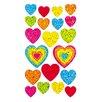 <strong>Bulk Roll Prismatic Assorted Heart Sticker</strong> by Jillson & Roberts