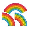 Jillson & Roberts Bulk Roll Prismatic Mini Rainbow Sticker