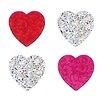 <strong>Bulk Roll Prismatic Mini Heart Sticker</strong> by Jillson & Roberts