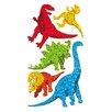Jillson & Roberts Bulk Roll Prismatic Dinosaur Sticker