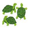 Jillson & Roberts Bulk Roll Prismatic Mini Turtle Sticker