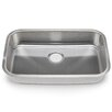 "Hahn Blanco Stellar 28"" x 18"" Single Bowl Kitchen Sink"