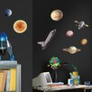 RoomMates Space Travel Wall Stickers