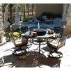 Art Frame Direct Maravilla 5 Piece Dining Set with Cushions