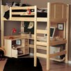 <strong>Radia Twin Loft Bed with Ladder</strong> by Epoch Design