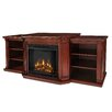 """Woodbridge Home Designs 75.5"""" TV Stand with Electric Fireplace"""