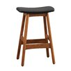 Woodbridge Home Designs 24'' Counter Stool with Cushion (Set of 2)