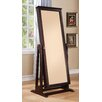 Woodbridge Home Designs Reflection Cheval Mirror with Jewelry Storage