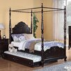 Woodbridge Home Designs Cinderella Canopy Four Poster Bed
