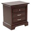 Woodbridge Home Designs 1349 Series 3 Drawer Nightstand