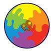 KaloKids Decorative Color Palette Kids Rug