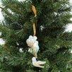 Reed & Barton Blown Glass Ornaments Four Calling Birds