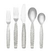 <strong>Reed & Barton</strong> 45 Piece Weave Dinner Flatware Set