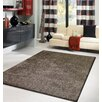 Rug Factory Plus Amore Shag Brown Rug