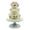 "Blossom Bucket ""Live in Love"" Wedding Cake Statue"